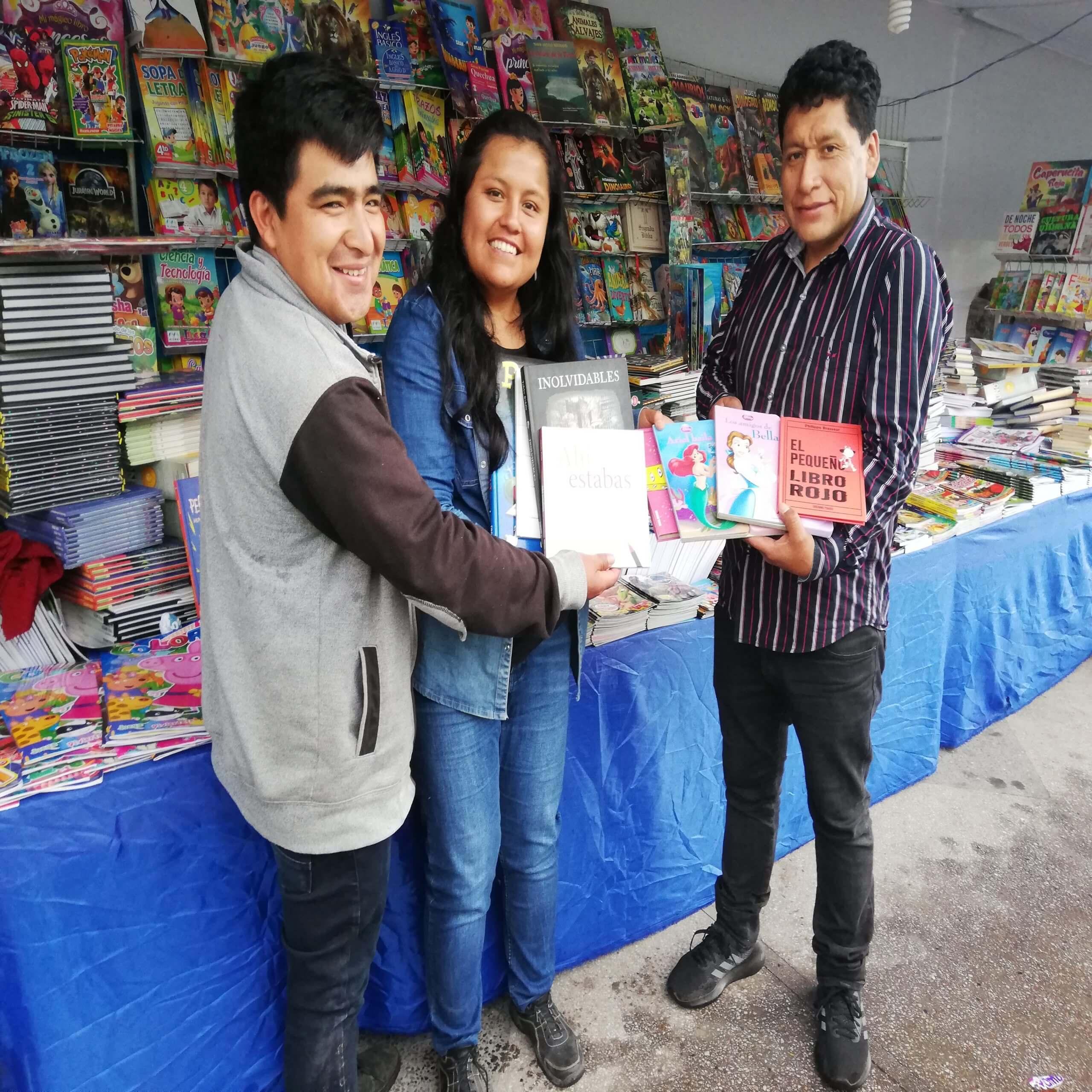 Donación cuentos